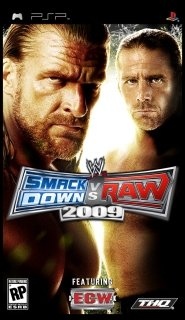 WWE SmackDown! vs. RAW 2009 /ENG/ [ISO] PSP