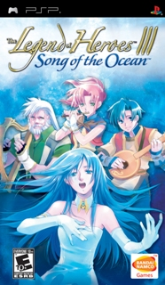 The Legend of Heroes III: Song of the Ocean /RUS/ [ISO] PSP
