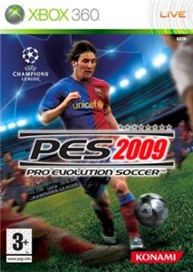 Pro Evolution Soccer 2009 (RUS TEXT)(XBOX360)