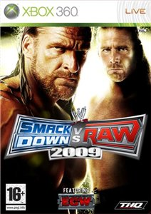 WWE SmackDown vs Raw 2009 (2008/Xbox360/ENG)