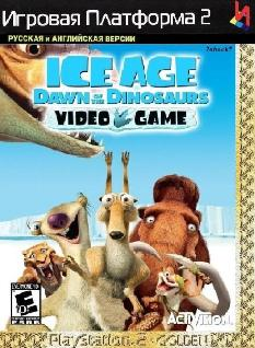 Ice Age Dawn of the Dinosaurs {-Multi 5 + RUS-} PS2