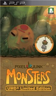 Pixel Junk Monsters Deluxe [ENG] PSP