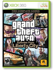 Grand Theft Auto: Episodes From Liberty City [Region Free] {RUS} XBox360