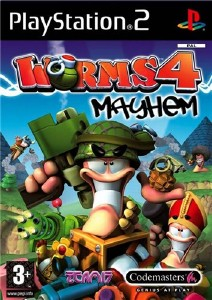 Worms 4: Mayhem (2005/PS2/RUS)
