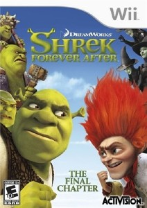 Shrek Forever After: The Game (2010/Wii/ENG)
