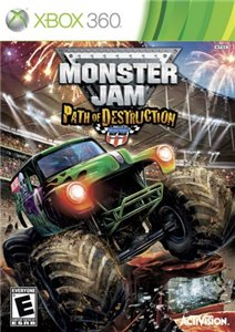 Monster Jam Path Destruction (2010/Eng) Xbox360