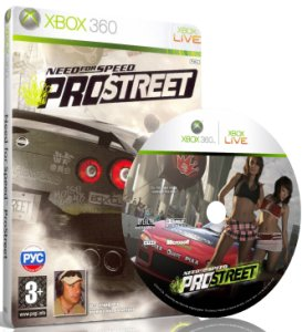 Need for Speed: ProStreet [RUSSOUND] XBOX 360