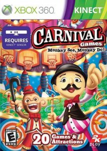 Carnival Games: Monkey See, Monkey Do! [ENG] XBOX 360