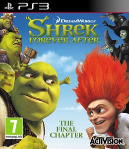 Шрек Навсегда / Shrek Forever After [ENG] PS3