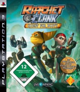 Ratchet and Clank: Quest For Booty (2008) [multi5] PS3