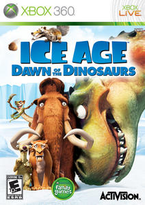 Ice Age: Dawn of the Dinosaurs (2009) [RUS] XBOX360