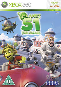 Planet 51 The Game (2009) [RUS] XBOX360