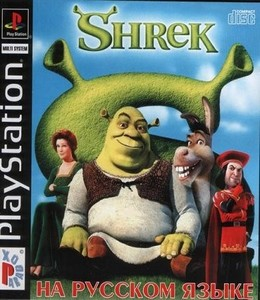 Shrek Treasure Hunt [RUSSOUND] (2002) PSX-PSP