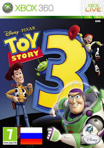 Toy Story 3: The Video Game (2010) [RUSSOUND/FULL/Region Free] (iXtreme 6-я волна) XBOX360