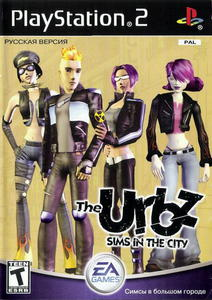 The Urbz: Sims in the City [RUS][PAL] PS2