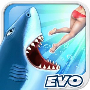 Hungry Shark Evolution 1.1.1 [ENG][iOS] (2012)