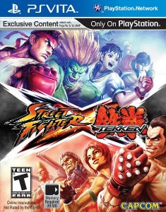 Street Fighter x Tekken (2012) PS Vita