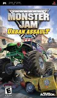 Monster Jam: Urban Assault [RUS / ISO] PSP