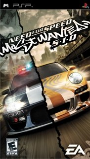 Need for Speed: Most Wanted 5-1-0 /RUS/ [CSO] PSP