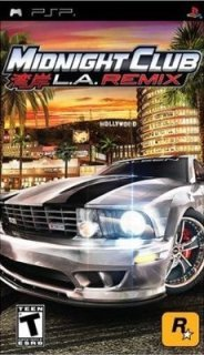 Midnight Club: L.A. Remix /ENG/ [ISO] PSP