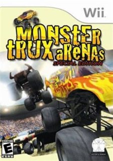 Monster Trux Arenas (2007/Wii/ENG)