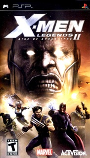 X-Men Legends II: Rise of Apocalypse /RUS/ [ISO] PSP
