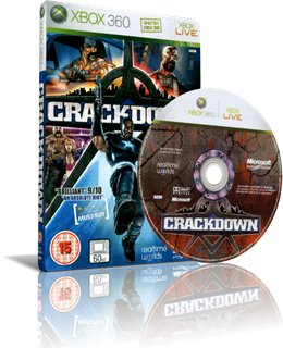 Crackdown [2007/RF/RUSSOUND] XBOX360