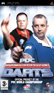 PDC: World Championship Darts 2008 /ENG/ [ISO] PSP