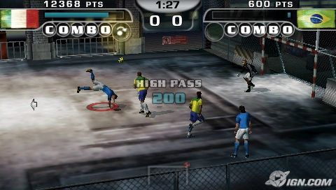 Fifa Street 2 PSP Game Highly Compressed Games Best Game