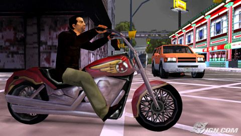 (PSP) Grand Theft Auto: Liberty City Stories /RUS/