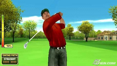 Tiger Woods PGA Tour 07 /RUS/ [ISO] PSP