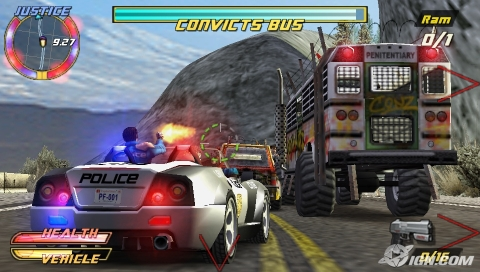 Pursuit Force: Extreme Justice /RUS/ [CSO] PSP