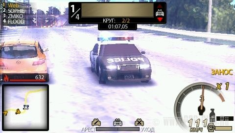 Need for Speed: Undercover /RUS/ [ISO] PSP