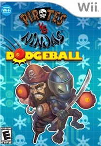 Pirates Vs Ninja Dodgeball (2008/Wii/ENG)