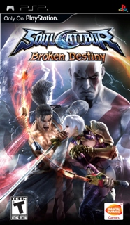 Soul Calibur: Broken Destiny + Patch /RUS/ [ISO] PSP