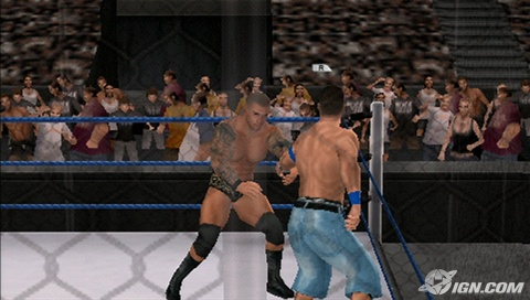 WWE Smackdown vs. Raw (Золотая коллекция) / ENG / Fighting / 2005-2011 / PSP [ISO]