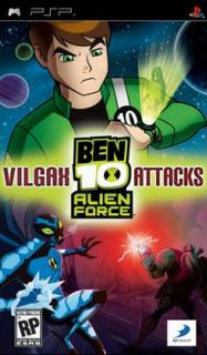 Ben 10: Alien Force - Vilgax Attacks /ENG/ [CSO] PSP