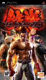 Tekken- 6 /RUS/ [ISO] PSP