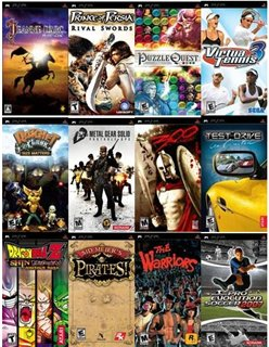 Сборник русскоязычных игр для PSP (2000-2008) rus