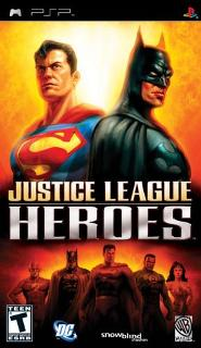 Justice League Heroes /RUS/ [ISO] PSP