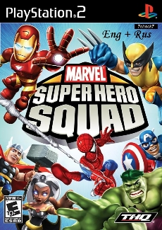 Marvel Super Hero Squad {-ENG + RUS TEXT-} PS2