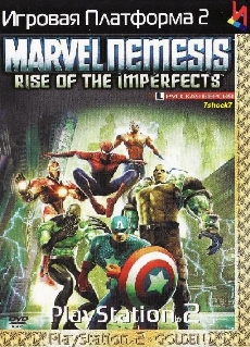 Marvel Nemesis Rise of the Imperfects {-RUS-} PS2