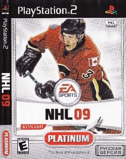 NHL 09 {-RUS-} PS2