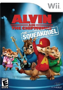 Alvin and the Chipmunks: The Squeakquel (2009/Wii/ENG)