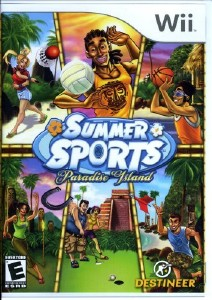 Summer Sports: Paradise Island (2008/Wii/ENG)