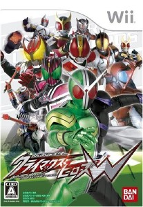 Kamen Rider: Climax Heroes W  (2009/Wii/ENG)