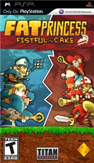 Fat Princess: Fistful of Cake [2010] [RUS] PSP