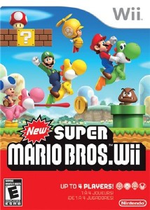 New Super Mario Bros (2009/Wii/RUS)