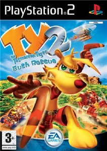 TY The Tasmanian Tiger 2: Bush Rescue (2004/PS2/RUS)