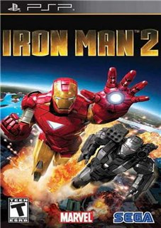 Iron Man 2: The Video Game [2010/FullRip/MULTI5] PSP